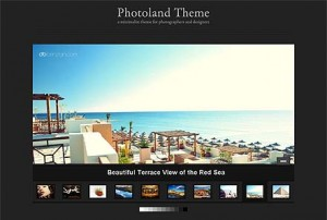Photoland WordPress theme by WPZoom