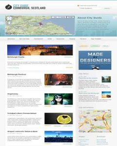 City Guide WordPress Theme by WooThemes