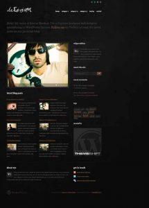 Delirium WordPress theme by ThemeShift