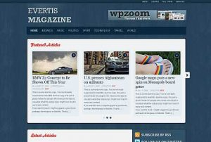 Evertis Magazine Premium WordPress Theme by WPZoom