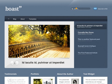 Boast WordPress Theme by WooThemes