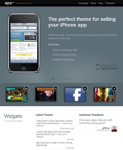 Apz WordPress Theme by wooThemes