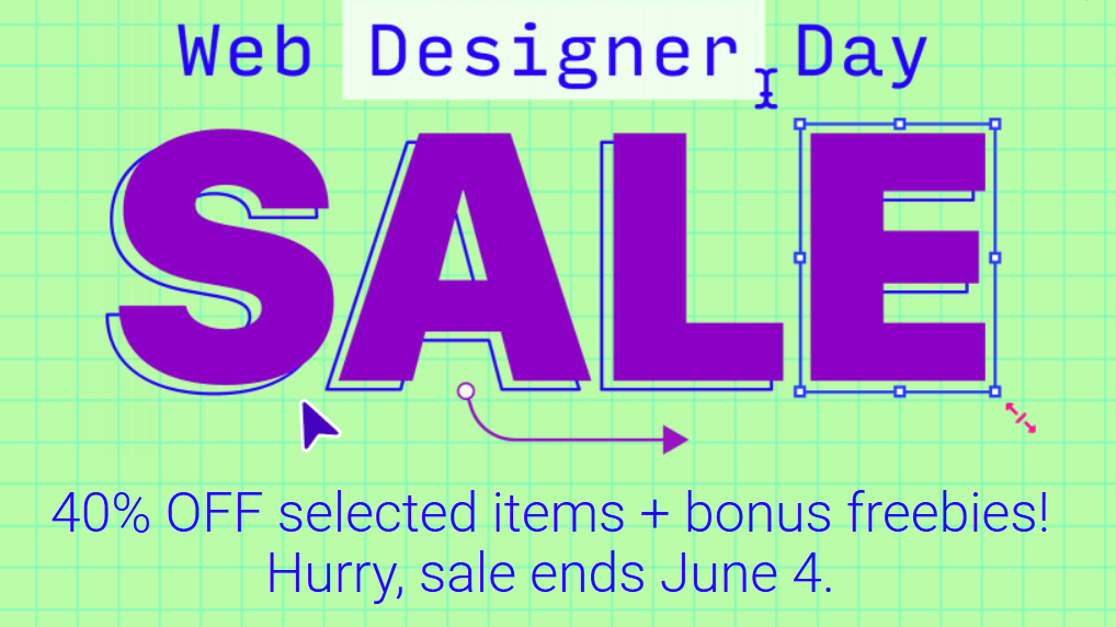 Envato 40% OFF selected items – Sale ends June 4, 2019