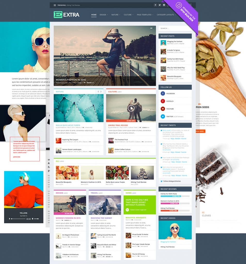 Extra Magazine WordPress Theme