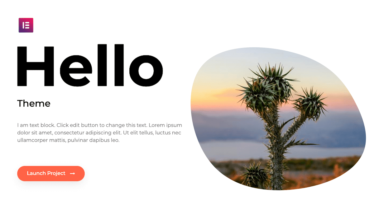 Read more about the article Hello Elementor WordPress Theme