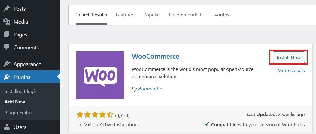Install WooCommerce – Automatic and Manual Installation